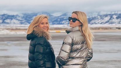 Reese Witherspoon și Ava Phillippe