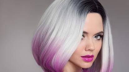 cum iti colorezi părul mov