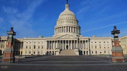 Capitoliul Statelor Unite ale Americii, ce adăpostește acest edificiu