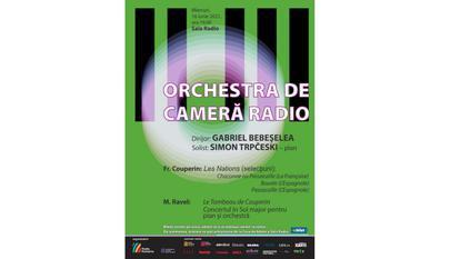 (P) Concert de muzică franceză închide stagiunea Orchestrei de Cameră Radio