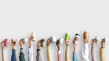 Cafea cu apa