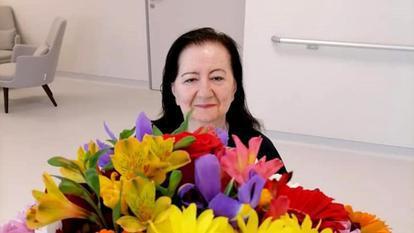 Cum a fost surprinsă Mioara Roman acum, în centrul de recuperare. Are 81 de ani