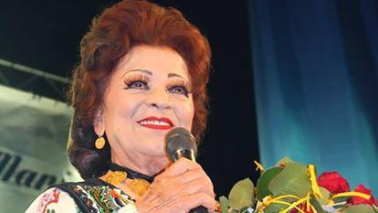 Cum arată Maria Ciobanu la 84 de ani. Celebra cântăreață de muzică populară se machiază și poartă rochii elegante