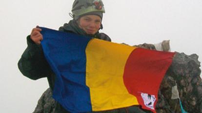Crina Popescu, scolarita-alpinist