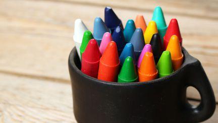 creioane de colorat