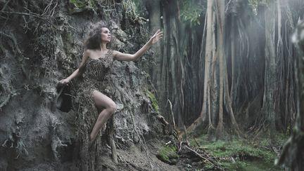 femeie copac