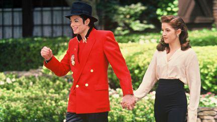 Michael Jackson si Lisa Marie Presley
