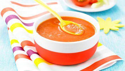 Gazpacho pentru bebe