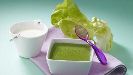 Cremă de salată cu chimen (pentru 9-12 luni)