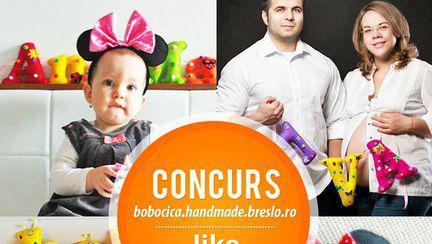 """S-a desemnat câștigătoarea concursului """"Litere personalizate by Bobocica"""""""