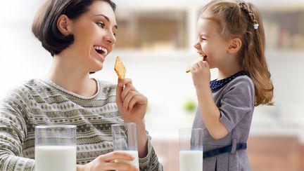 Alimentele sănătoase, prietenii copilului mic