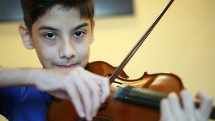 Micul violonist de azi, marele artist de mâine