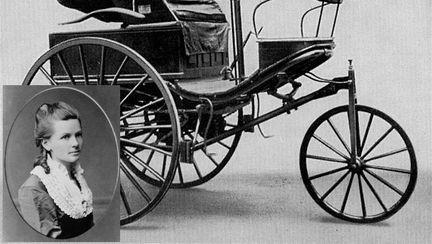 prima femeie șofer