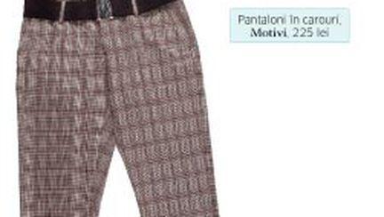 Cum să porţi pantalonii în carouri