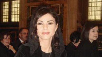 Ramona Bădescu, în vizită la Papa