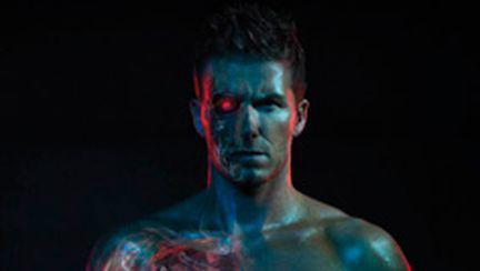 David Beckham, între Michelangelo şi Terminator (galerie foto şi video)
