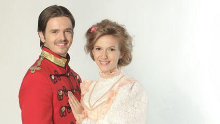 Mihai Petre şi Adela Popescu formează cuplul ideal
