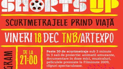 Scurtmetraje sub trei minute la Teatrul Naţional