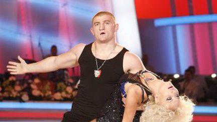 """Andreea Spătaru şi Moroşanu la """"Dansez pentru tine"""""""