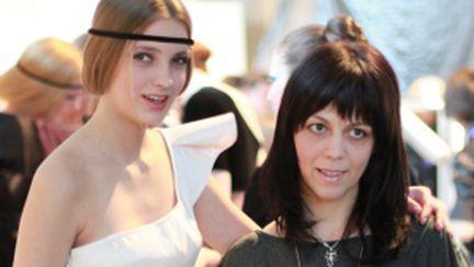 Andreea Tincu la Kiev Fashion Week