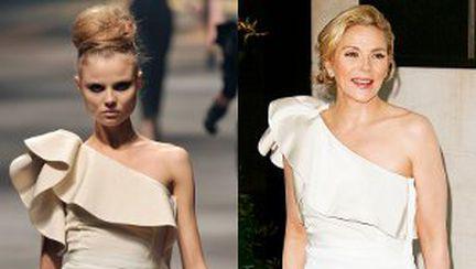Rochii frumoase la gala premiilor Laurence Olivier