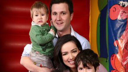 De Paşte, Andi Moisescu stă cu familia