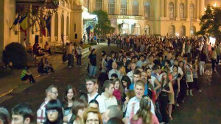 Noaptea albă a Muzeelor din Bucureşti