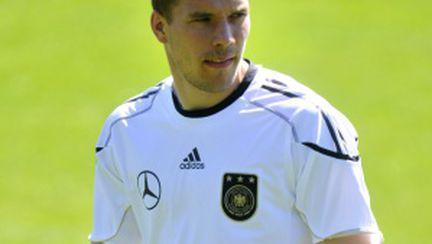 Lukas Podolski, atacant Germania