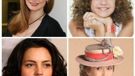 Protagonistele din telenovelele româneşti