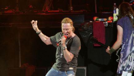 Guns N' Roses în concert la Bucureşti