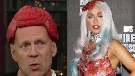 Bruce Willis o ironizează pe Lady Gaga