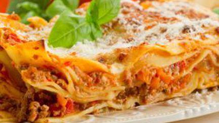 Povestea şi reţeta lasagnei