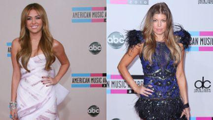 Cele mai frumoase rochii de la American Music Awards 2010
