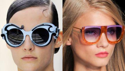 Ochelari de soare: tendinţe primăvară-vară 2011