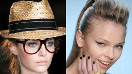 Eşarfe, pălării, mănuşi: tendinţe primăvară-vară 2011