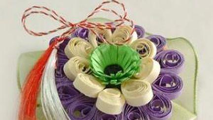 Foto: se poartă mărţişoarele handmade