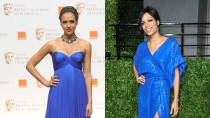 Modă 2011: rochii albastru electric purtate de vedete