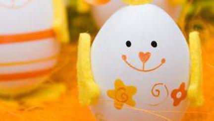 Foto: 4 idei originale pentru ouăle de Paşte