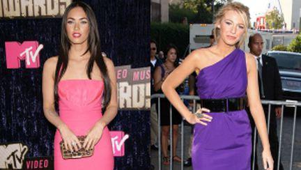 Rochiile roz şi mov, senzaţia verii 2011