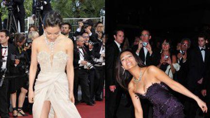 Cannes 2011: vedete surprinse în ipostaze ciudate