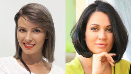 Diana şi Nicoleta, schimbări radicale de look. Cum le stă?