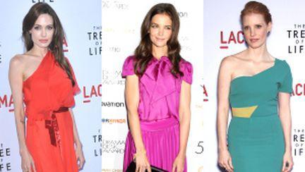 3 vedete cu rochii în culori neon. Care îţi place mai mult?