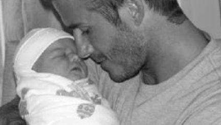 Prima poză cu Harper Seven, fetiţa cuplului Beckham