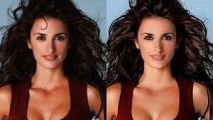 8 vedete înainte şi după Photoshop