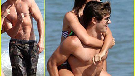 Ashley Tisdale, în ipostaze intime cu Zac Efron!