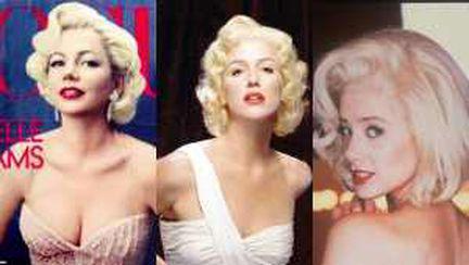 Foto: 5 actriţe superbe în rolul lui Marilyn Monroe