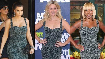 3 vedete cu rochii identice. Care e mai sexy?