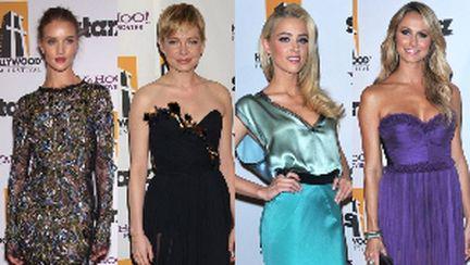 Cele mai frumoase rochii de la Hollywood Awards Gala 2011