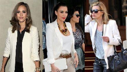 Tendinţe: cum porţi şi asortezi blazerul alb