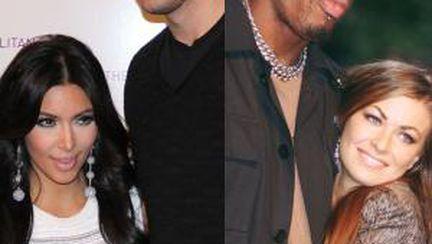 Kim Kardashian şi alte vedete cu căsnicii scurte